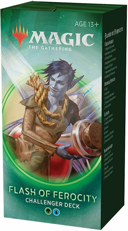 Challenger Deck 2020 - Flash of Ferocity - Magic: the Gathering