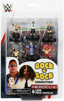 WWE Heroclix - The Rock 'n' Sock - Starter Set