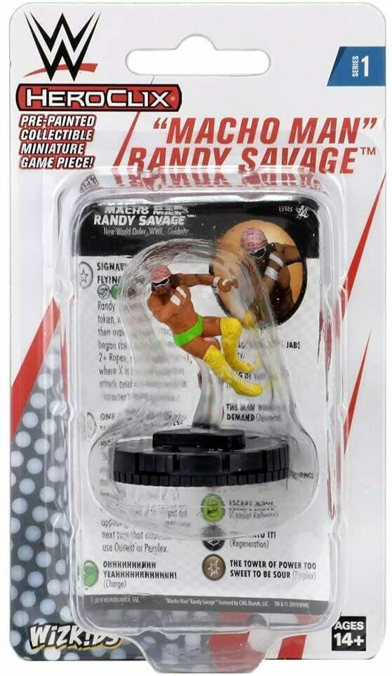 WWE Heroclix - Macho Man Randy Savage