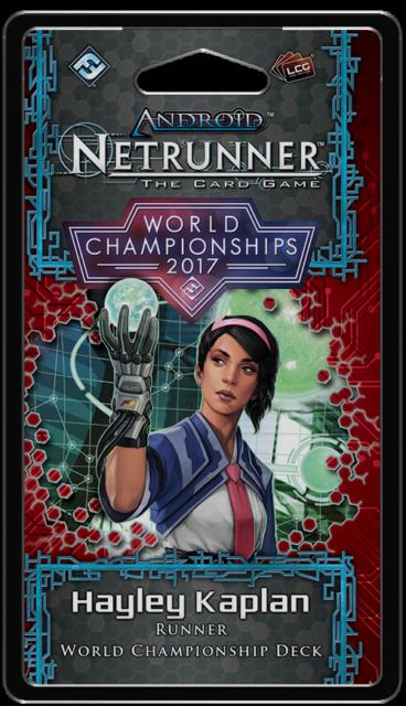 World Champion 2017 Runner - Android Netrunner LCG