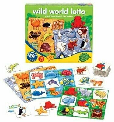 Wild world lotto