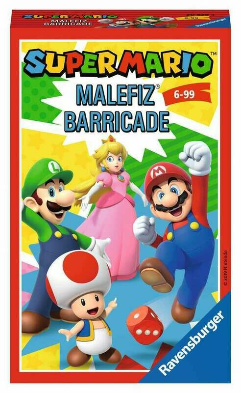Super Mario Malefiz Barricade Travel Game