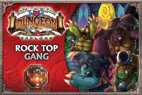 Super Dungeon Explorer - Rock Top Gang
