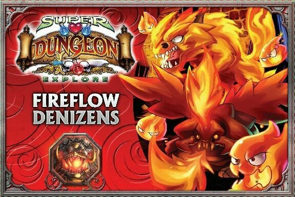 Super Dungeon Explorer - Fireflow Denizens