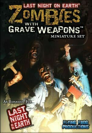Zombie with Grave Weapons
