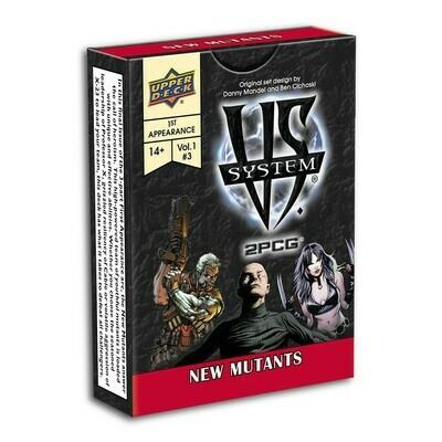 VS System - 2 PCG New Mutants
