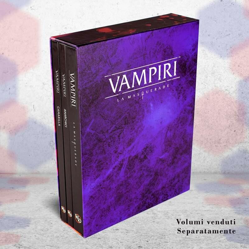 Vampiri La Masquerade 5 Ed. - Slip Case