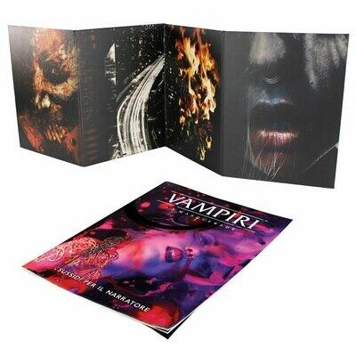 Vampiri La Masquerade 5 Ed. - Schermo del Narratore e Sussidi