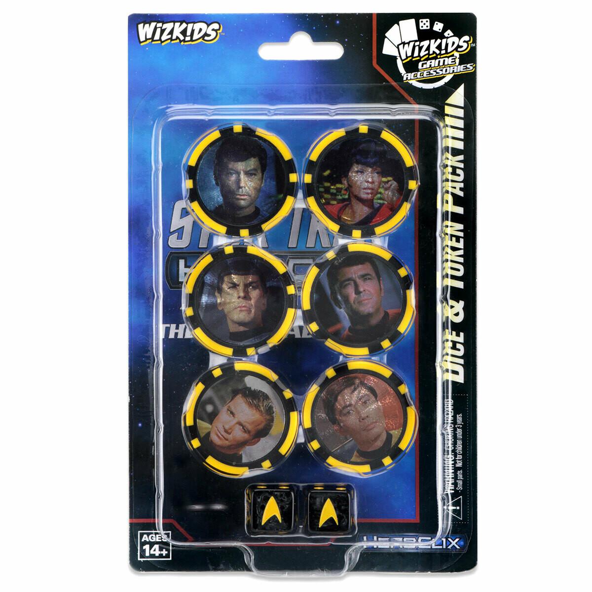 Star Trek Away Teams Dice & Token Pack - Heroclix