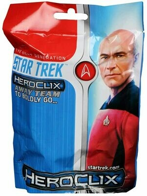 Star Trek HeroClix: TNG - To Boldly GO Gravity Feed Busta
