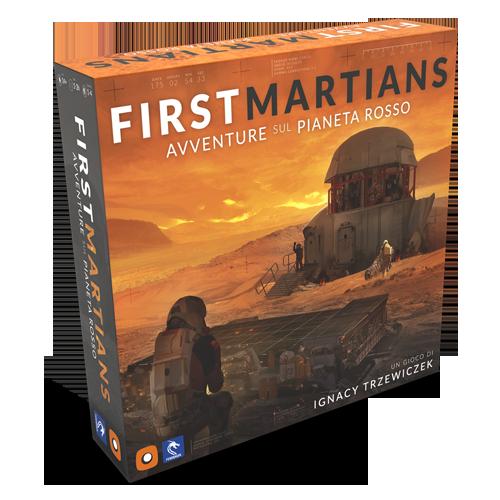 First Martians: Avventure sul Pianeta Rosso (ITA)