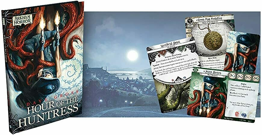 Hour of the Huntress (Arkham Horror Novel)