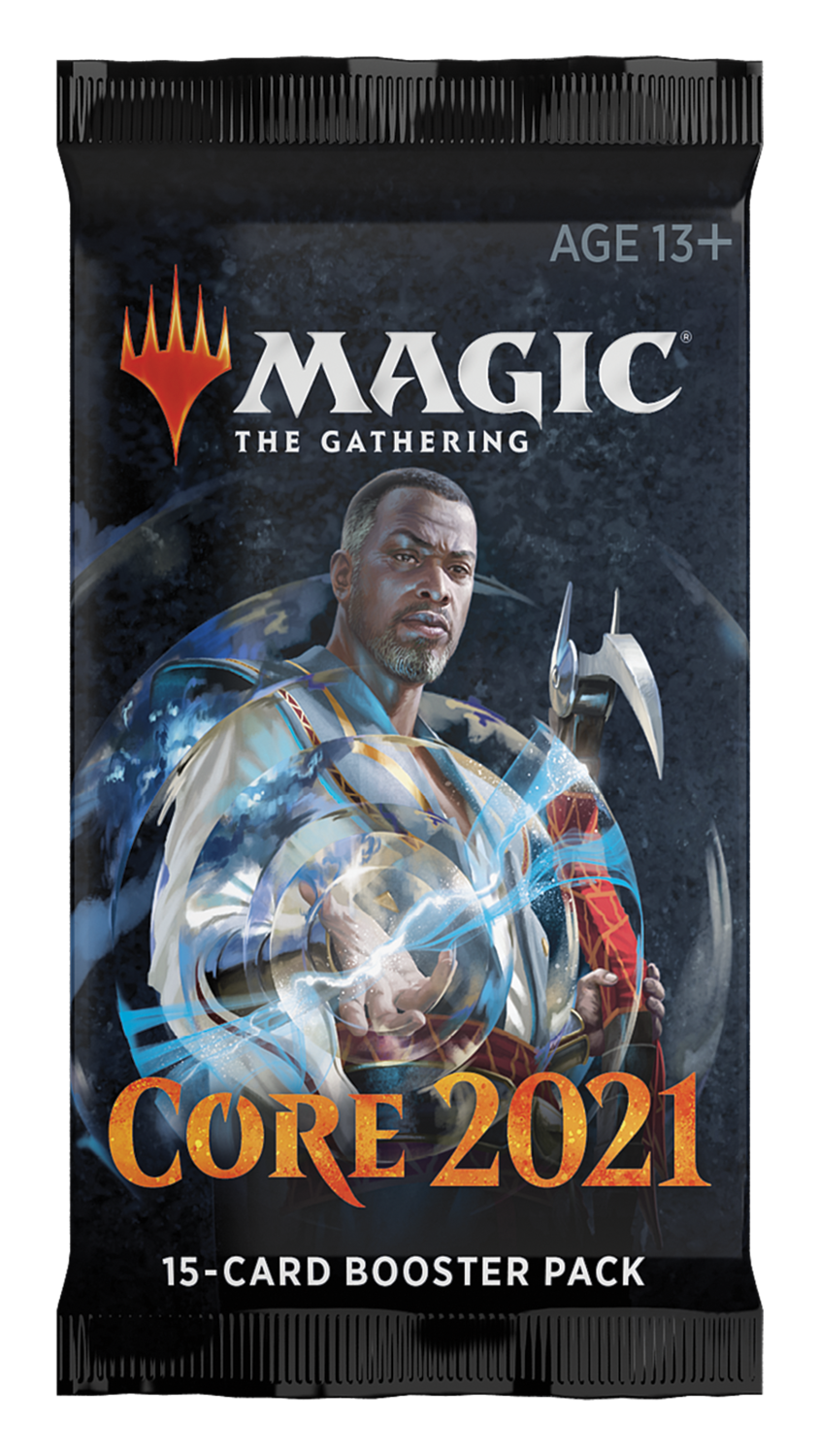 Set Base 2021 Busta ENG - Magic: the Gathering