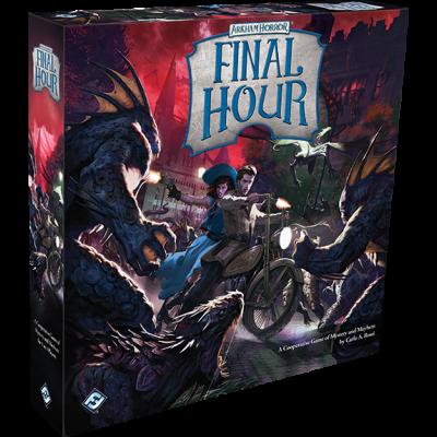 Arkham Horror: Final Hour Edizione Inglese