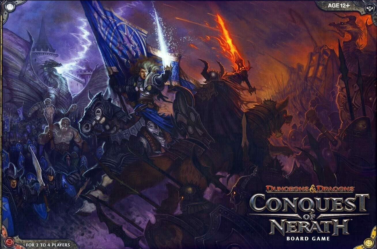 D&D Boardgame - Conquest of Nerath
