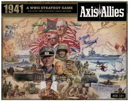 Axis & Allies - Spring 1941 Anniversary Ed.