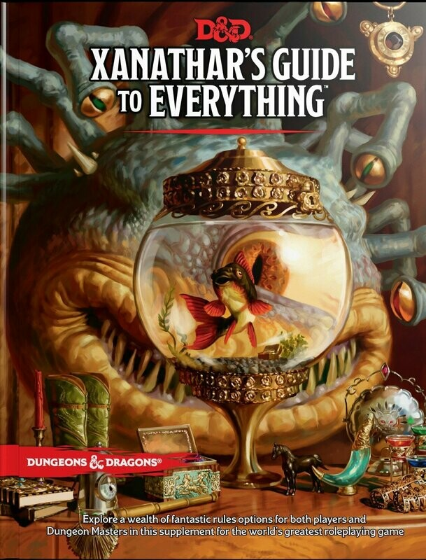 D&D Xanathar's guide to everything - Quinta Ed.
