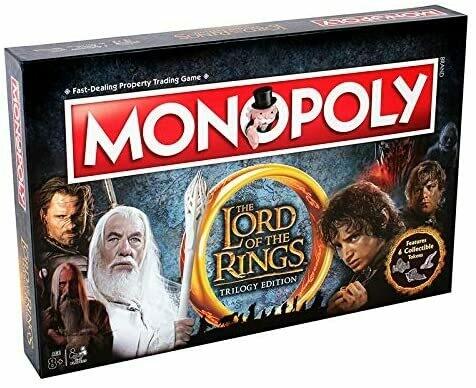 Monopoly Il Signore degli Anelli - Ed. della Trilogia