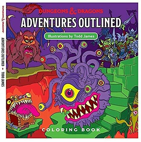 Adventure Outlined Coloring Book - Quinta Ed.