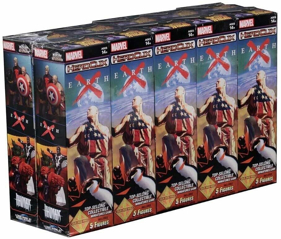 HeroClix: Earth X Booster HeroClix