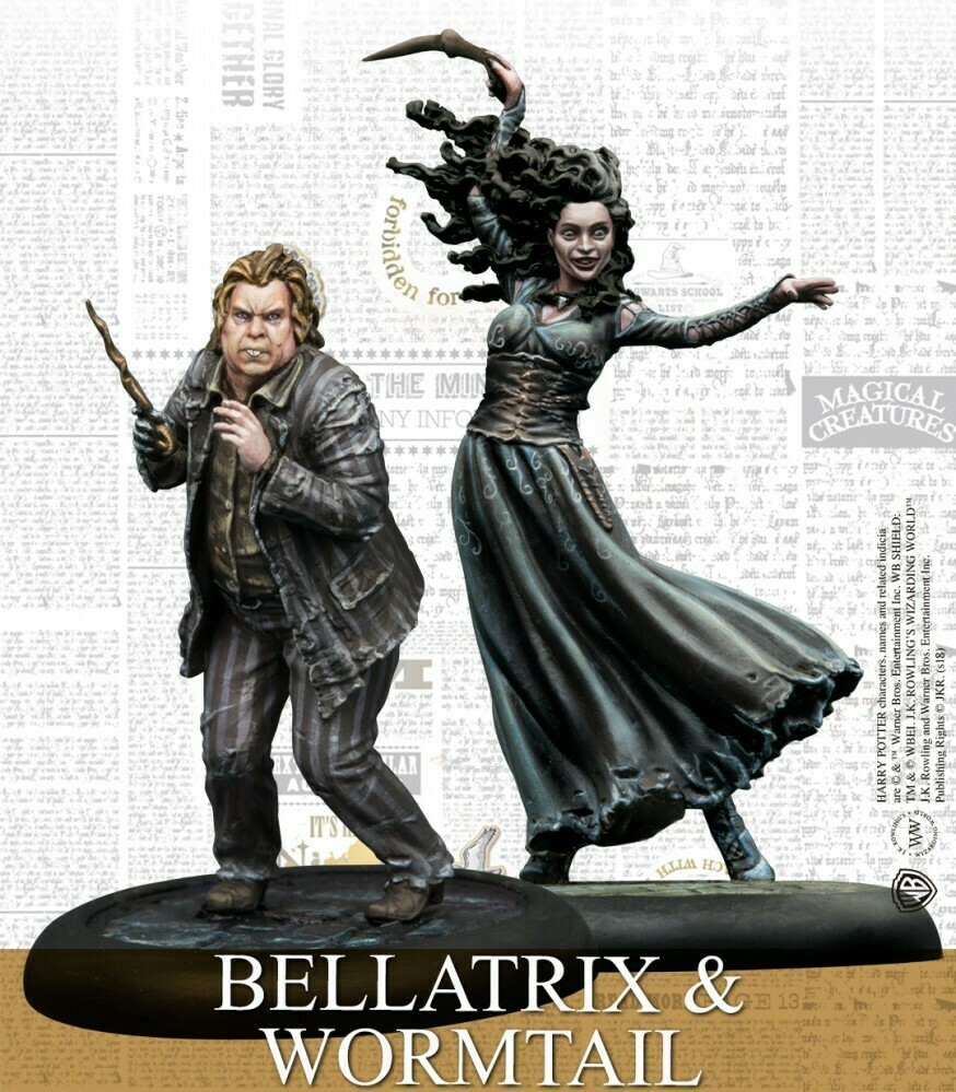 Harry Potter Miniature Adventure Game - Bellatrix & Wormtail