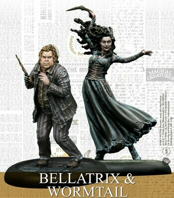 Harry Potter Miniature Adventure Game - Bellatrix & Wormtail