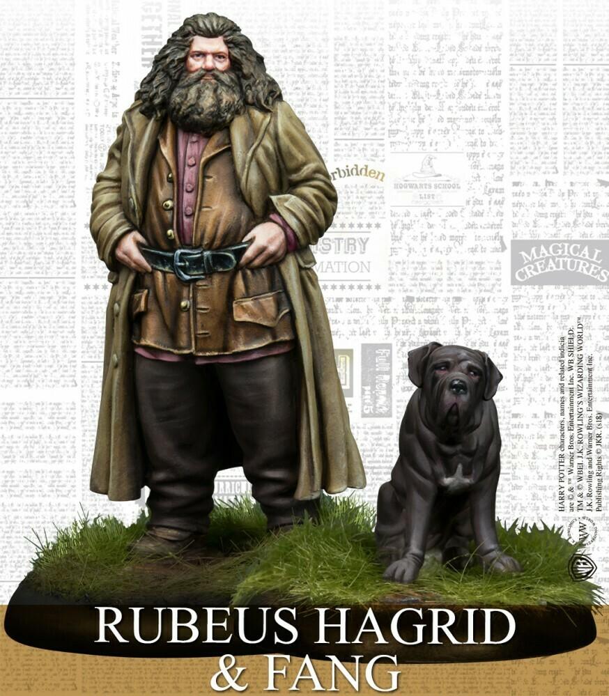 Harry Potter Miniature Adventure Game - Rubeus Hagrid