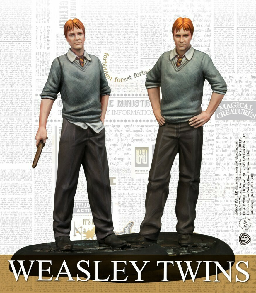 Harry Potter Miniature Adventure Game - Fred & George Weasley