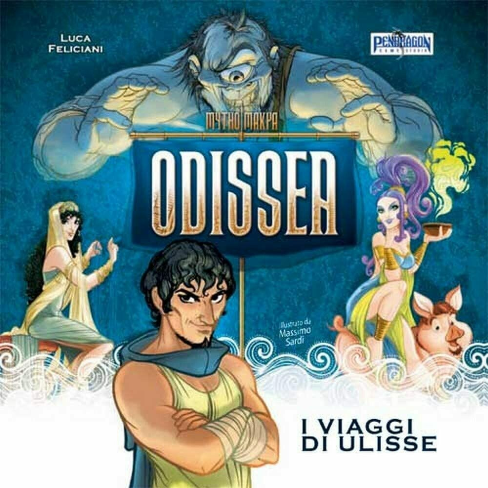 Mythomakya - Odissea, I Viaggi di Ulisse