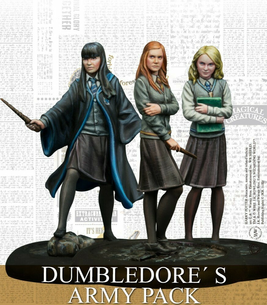Harry Potter Miniature Adventure Game - Dumbledore Army