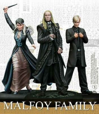 Harry Potter Miniature Adventure Game - Malfoy Family