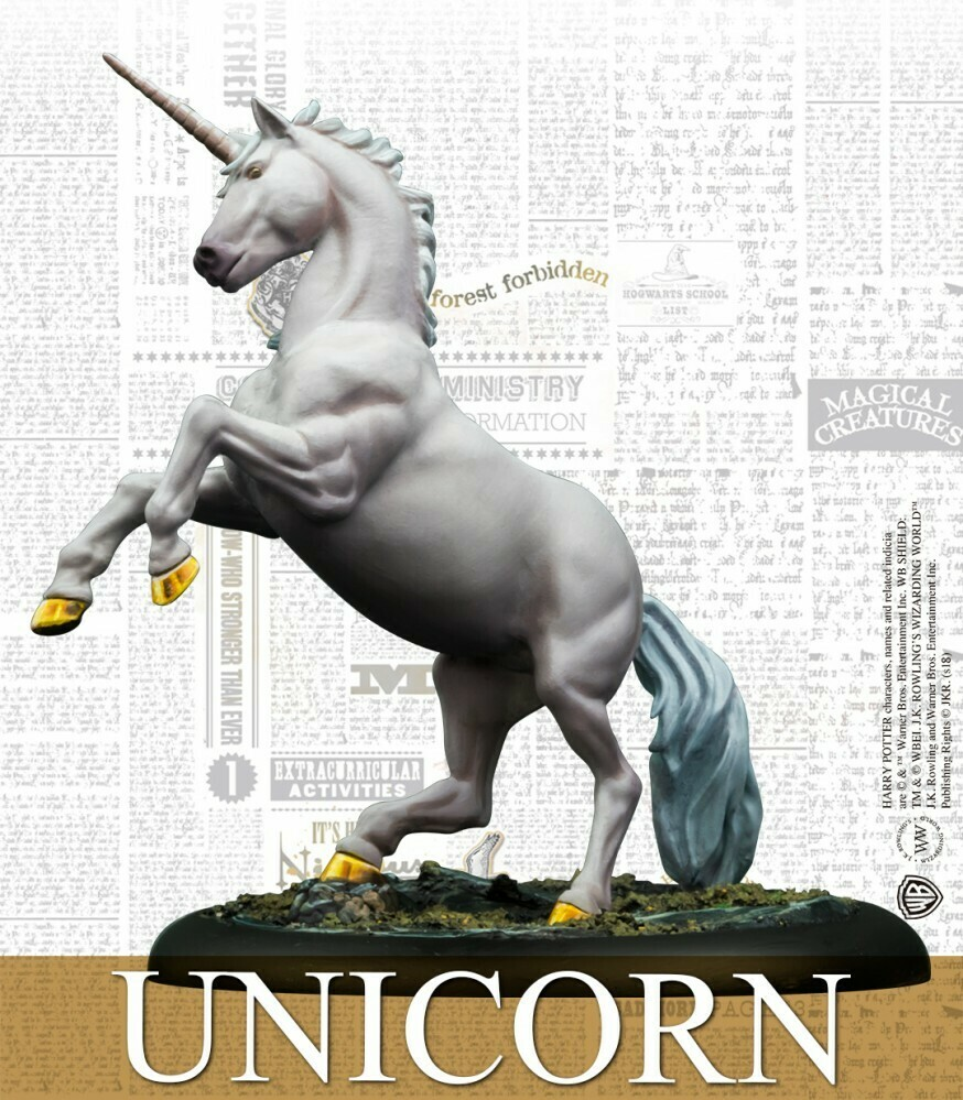Harry Potter Miniature Adventure Game - Unicorn Adventure Pack