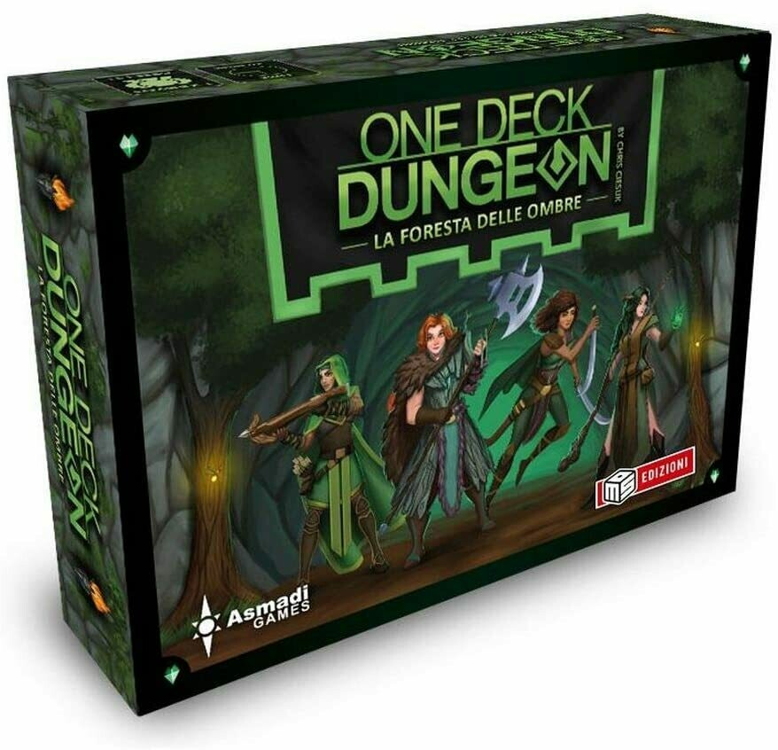 One Deck Dungeon - La Foresta delle Ombre