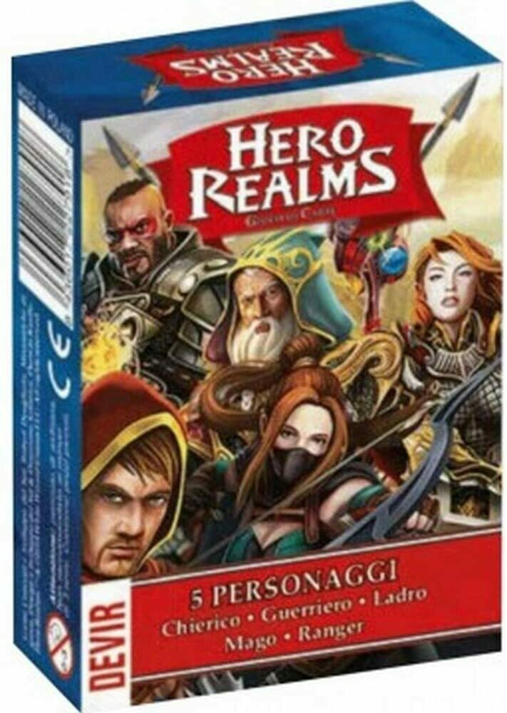 Hero Realms - Confezione 5 Personaggi EXP