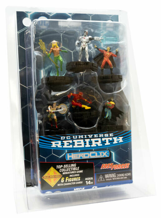 HeroClix - DC Rebirth Fast forces