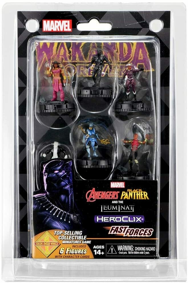 HeroClix: Black Panther & the Illuminati Fast Forces