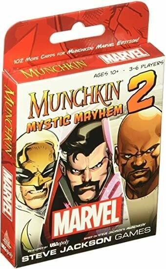 Munchkin: Marvel 2 Mystic Mayhem - EN
