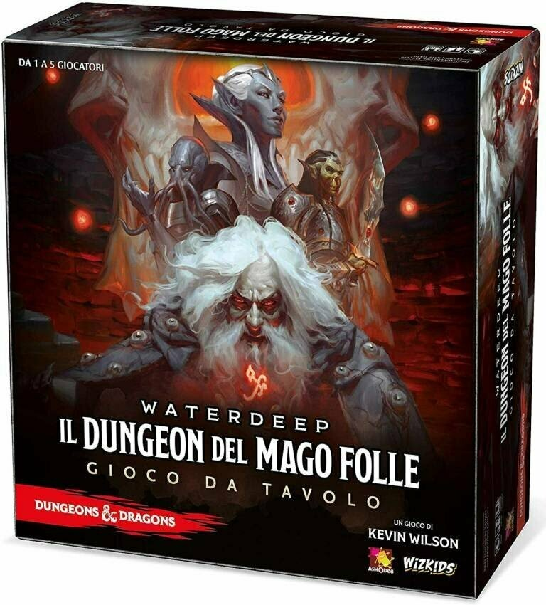 D&D Boardgame - Il Dungeon del Mago Folle
