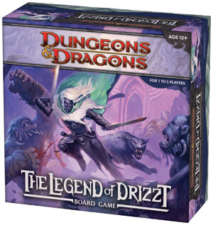 D&D Boardgame - The Legend of Drizzt
