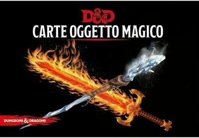 D&D Carte Incantesimo Oggetto Magico - Quinta Ed.