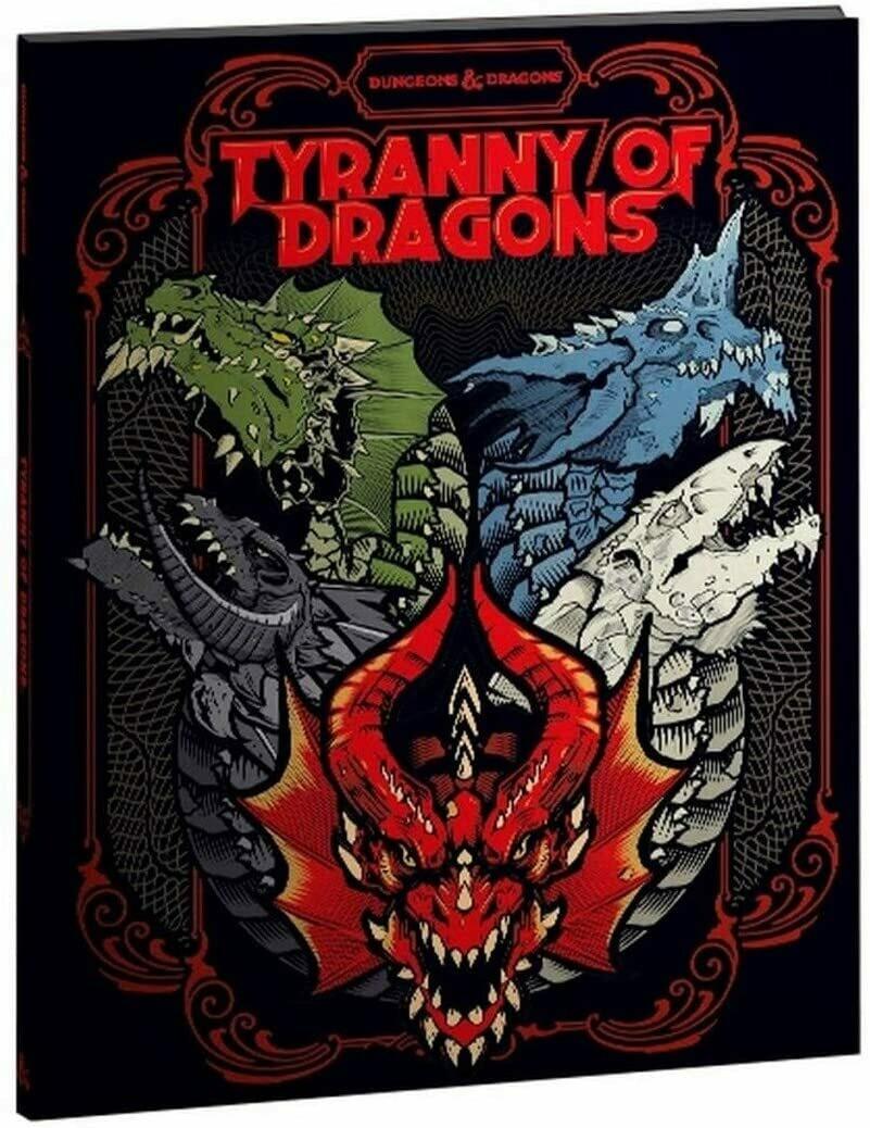 D&D Tyranny of Dragons (Alt Cover) - Quinta Ed.