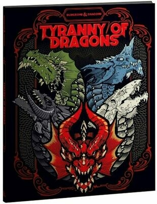 D&D Tyranny of Dragons (Alt Cover) - Quinta Ed.