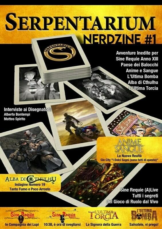Serpentarium Nerdzine #1