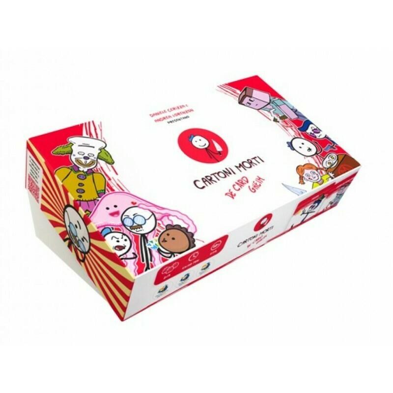 Cartoni Morti - De Card Gheim Deluxe