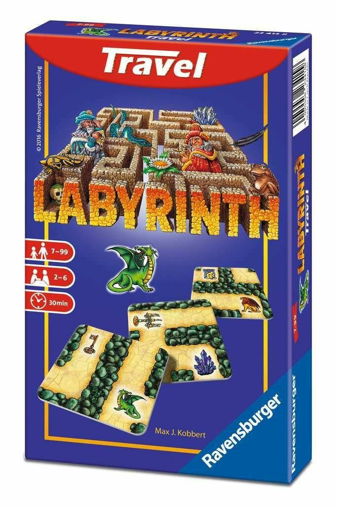 Labyrinth Card Labirinto Travel Game