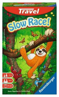 Slow Race Travel Game
