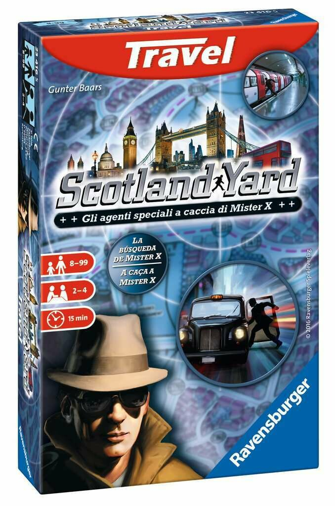 Scotland Yard Travel Game