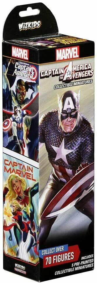 HeroClix: Captain America & the Avengers Booster HeroClix