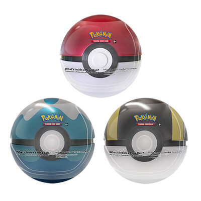Pokemon Tin Poke Ball 2020