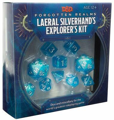 D&D Forgotten Realm's: Laeral Silverhand's Explorer  kit - Quinta Ed.